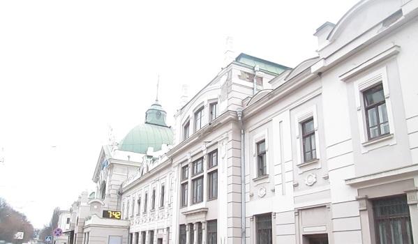 Railway Station Chernivtsi