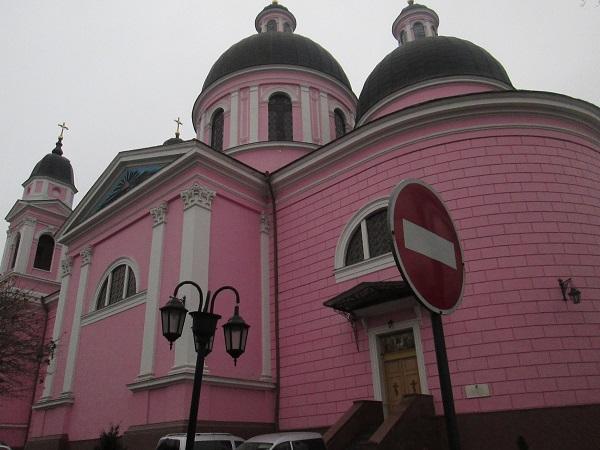 Кафедральний собор Святого Духа м. Чернівці