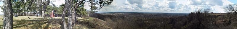 Панорамний вигляд зі Святилища