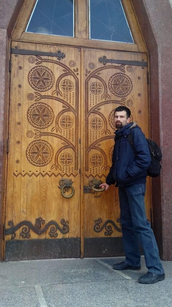 Двері в Краєзначий музей