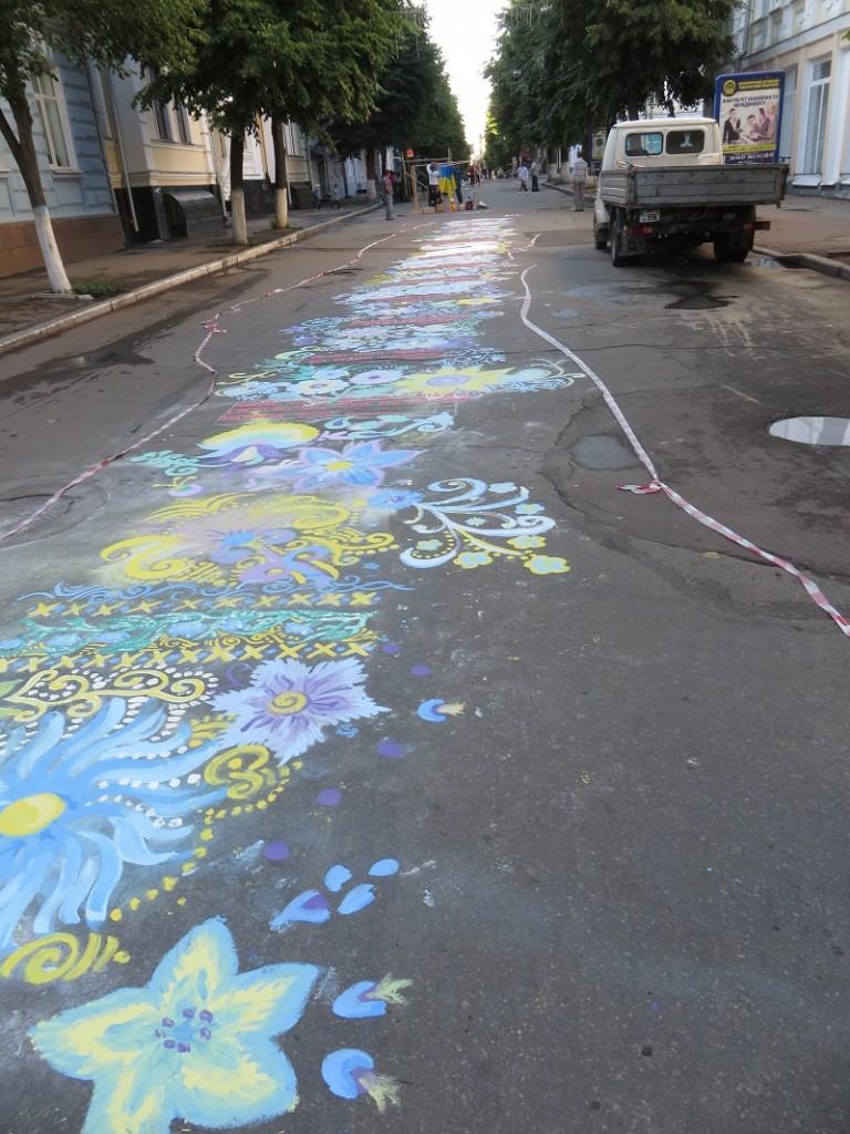 Мистецька алея в Житомирі