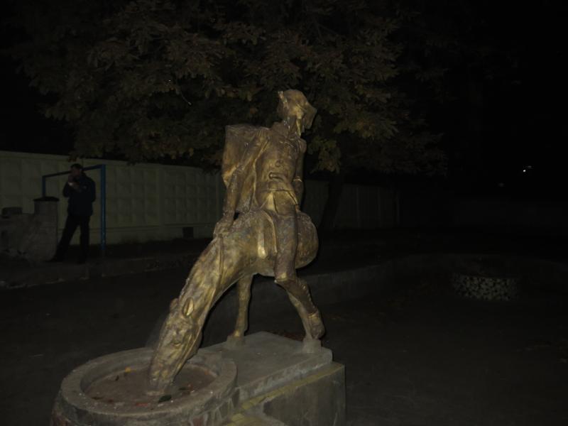 Памятник Мюхаузену в Хмельницькому