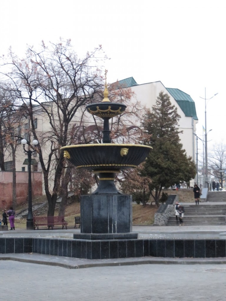 Цікавий фонтан, але вже не пам'ятаю де