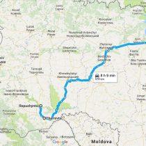 Автостопом з Чернівців до Києва